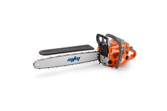 MTM Petrol Commercial Chainsaw 22 Bar E-Start Tree Pruning Chain Saw Top Handle