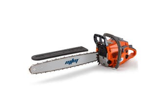 MTM Chainsaw Petrol Commercial 20 Inch Bar E-Start Tree Pruning Chain Saw HP