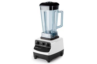 POLYCOOL 2L 2200W Commercial-Grade Blender with BPA-Free Jug for Drink, Smoothie, Food, Ice, White