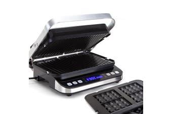 EUROCHEF Smart Multi Contact Grill Sandwich Panini Press Maker Fast Cafe Style