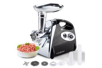EuroChef 2800W Electric Meat Grinder Mincer Sausage Filler Kibbe Maker Stuffer Kitchen