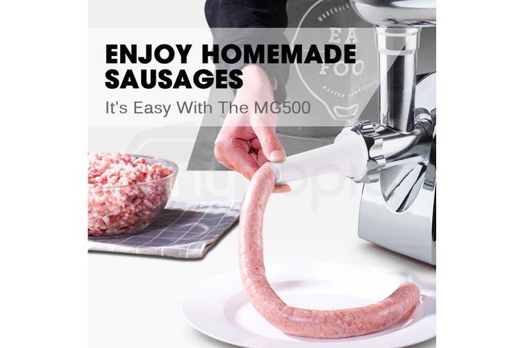 EuroChef Electric Meat Grinder Sausage Maker Filler Mincer Stuffer Kibbe