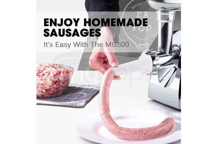 EuroChef 2800W Electric Stainless Steel Meat Grinder Mincer Sausage Filler Kibbe Maker