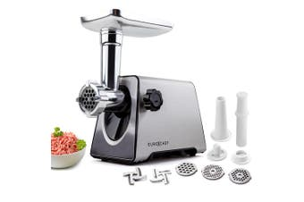 EuroChef Meat Grinder Electric Stainless Steel Mincer Sausage Kebbe Maker
