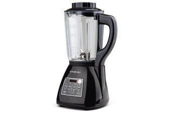 EuroChef Glass Soup Maker-Blender Kettle Hot Cold LCD Processor Stainless
