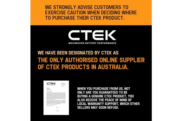 CTEK Genuine Rubber Bumper Cover Battery Charger Suits XC XS 0.8