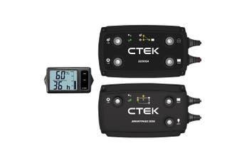 CTEK 140A Off Road DC/DC Bundle: D250SA + Smartpass 120S + Battery Monitor