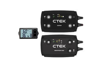 CTEK 140A Off Road DC/DC Bundle: D250SA + Smartpass 120S + Battery Monitor