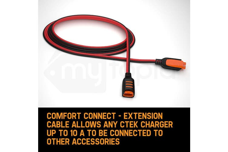 CTEK Comfort Connect Extension Cable 2.5M 8'2 Inch Suits MXS 5.0, MXS 7.0, MXS 10