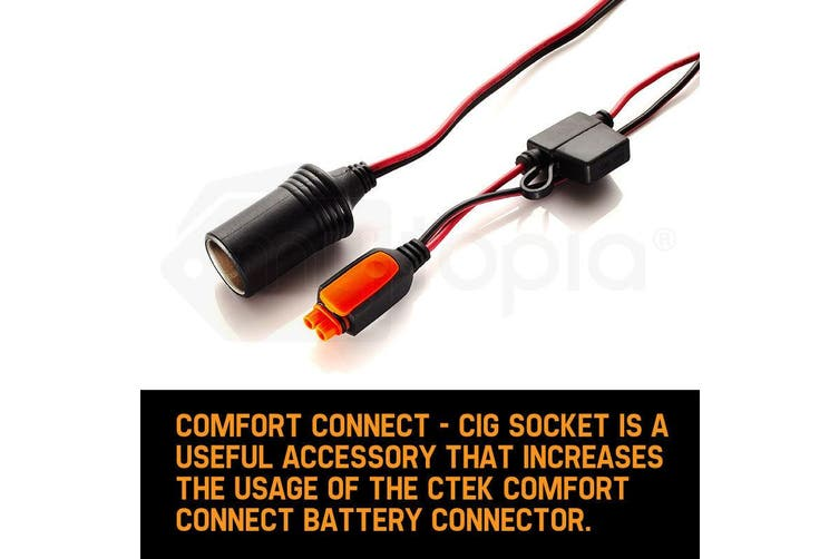 CTEK Battery Charger Comfort Connect Cig Socket Cigarette Cable ACCessory