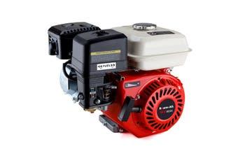 Baumr-AG 6.5HP Petrol Stationary Engine Motor 4-Stroke OHV Horizontal Shaft Recoil Start