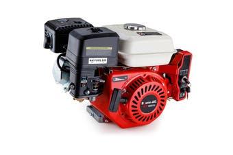 Baumr-AG 7HP Petrol Engine Stationary Motor OHV Horizontal Shaft Electric Start 4-stroke