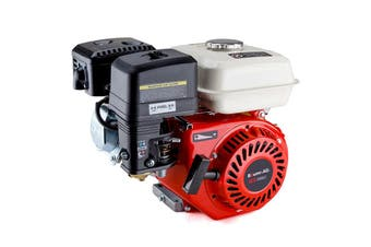 Baumr-AG 7HP Petrol Stationary Engine OHV 4-Stroke Horizontal Shaft Replacement Motor