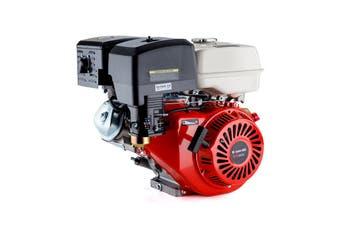 Baumr-AG 13HP Petrol Stationary Engine 4-stroke OHV Motor Horizontal Shaft Recoil Start