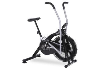 PROFLEX Air Bike Fan Resistance Exercise Fitness Home Gym Bicycle Black Pulse