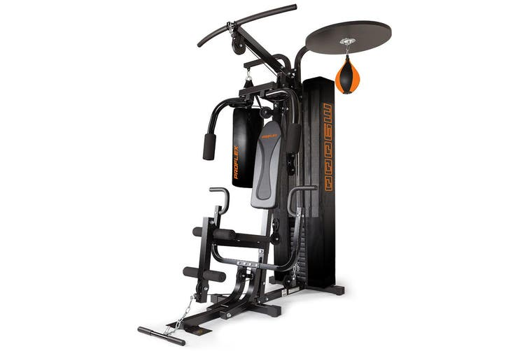 Proflex Multi Station Home Gym Exercise Boxing Weight Bench Press Equipment Punching