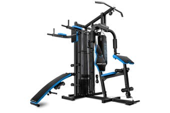 PROFLEX Home Gym Exercise Machine Fitness Equipment Weight Bench Press Set 100LBS