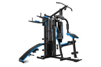 PROFLEX Home Gym Exercise Machine Fitness Equipment Weight Bench Press Set 148LBS