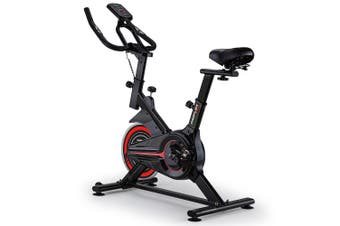 PROFLEX Spin Bike Flywheel Commercial Gym Exercise Home Fitness Red