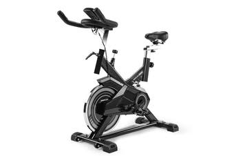 PROFLEX Spin Bike - Flywheel Commercial Gym Exercise Home Workout Grey