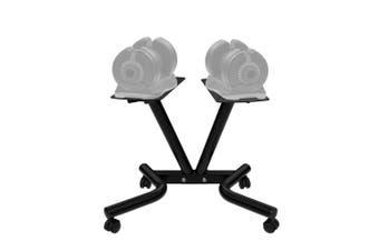 ATIVAFIT Rolling Dumbbell Stand for Pair of Adjustable 25kg or 32.5kg Dumbbells