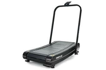 PROFLEX Manual Treadmill Curved Belt Powerless Motorless Non Motorised Electric