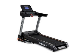 PROFLEX Treadmill Running Machine Foldable Fitness Home Large Auto Incline Gym