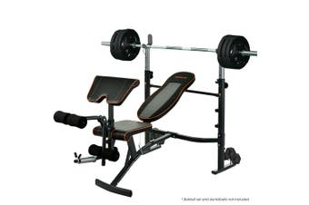 PROFLEX Weight Bench Workout Gym Press Adjustable Home Lifting Fitness Incline