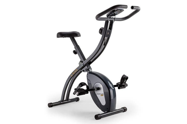 PROFLEX Folding Magnetic Exercise X-Bike - Bicycle Cycling Flywheel Fitness