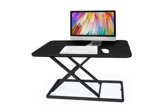 FORTIA Desk Riser Office Shelf Standup Sit Stand Height Standing Laptop Study