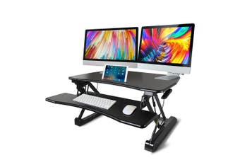 AVANTE Height Adjustable Standing Desk Riser Sit/Stand Computer Desktop Office