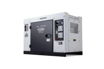 GENPOWER 8.4kVA Max 6kVA Rated Diesel Generator Single Phase Commercial RCD