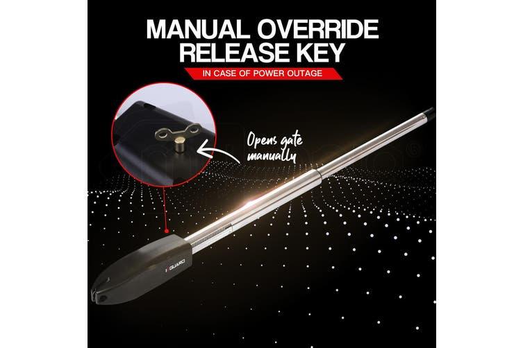 E-GUARD Single Swing Automatic Gate Opener 450KG 3.5M Motor Remote Control Kit