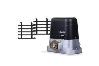 E-GUARD Automatic Sliding Gate Opener 6m 1500kg Auto Motorised Remote Control Kit