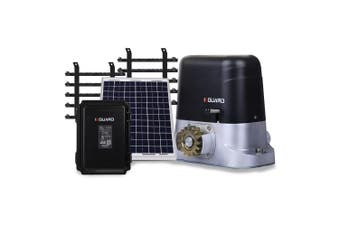 E-GUARD Automatic Solar Sliding Gate Opener 1500kg 5m Motorised Remote Control