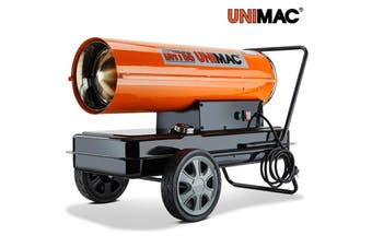 UNIMAC 30kW Industrial Diesel Heater Fan Kerosene Workshop Shed Drying Warming