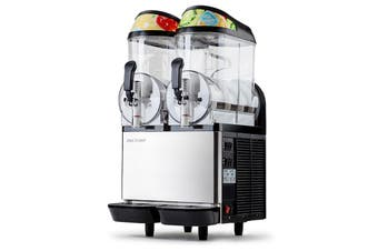 POLYCOOL 24L COMMERCIAL Slushie Machine Granita Slush Maker Slurpee Slushy Juice