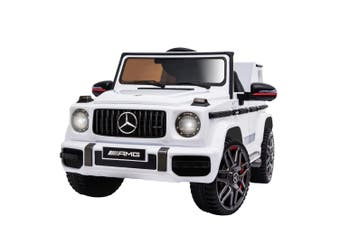 Kids Ride On Car LICENSED MERCEDES-BENZ AMG G63 Electric Battery Toy Wagon 4WD
