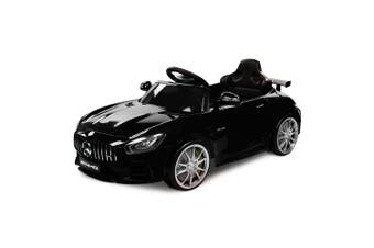 Rovo Kids Kids Ride On Car Licensed Mercedes-Benz AMG GTR Electric Toy Battery BK