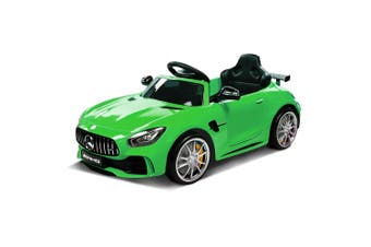 Kids Ride On Car Licensed Mercedes-Benz AMG GTR Electric Toy Battery Boys