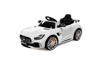 Rovo Kids Kids Ride On Car Licensed Mercedes-Benz AMG GTR Electric Toy Battery WT