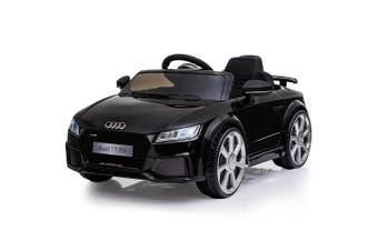 Kids Ride On Car LICENSED Audi TT RS Electric Battery Powered Motorised Black