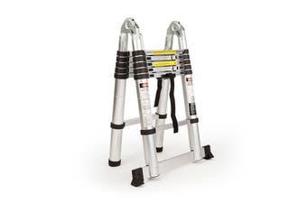 Bullet 3.8m Multipurpose Telescopic Folding Ladder Aluminium Alloy Extension