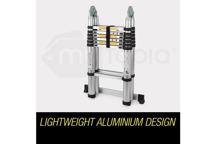 Bullet 4.4m Multipurpose Aluminium Telescopic Folding Ladder Alloy Extension Steps