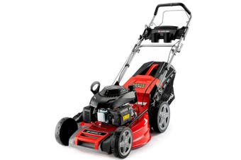 Baumr-AG Lawn Mower 20 Inch 220cc Petrol Self-Propelled Push Lawnmower 4-Stroke