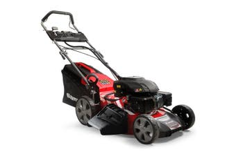 Baumr-AG Lawn Mower 21 Inch 248cc Electric Start Petrol Self-Propelled Lawnmower