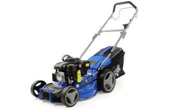 POWERBLADE Lawn Mower 18 Inch 175cc Petrol Self-Propelled 4-Stroke Push Lawnmower