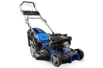 POWERBLADE Lawn Mower 18 Inch 175cc Electric Start Petrol Self-Propelled Lawnmower