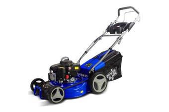POWERBLADE Lawn Mower 18 Inch 175cc Petrol Self-Propelled Push Lawnmower 4-Stroke