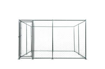 3x3m Dog Enclosure Kennel Large Chain Cage Pet Animal Puppy Fencing Outdoor Run